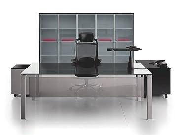 Glasschreibtisch Glider Burotisch Schreibtisch Chefburo