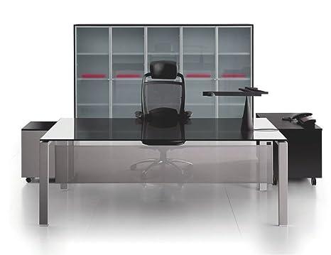 Mobili Per Ufficio Qualità : Vetro scrivania ufficio glider tavolo scrivania capo ufficio