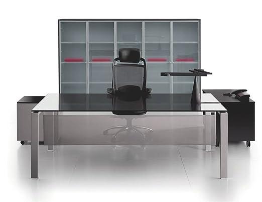 Cristal Escritorio Glider, Oficina Mesa, Escritorio, Chef Oficina ...