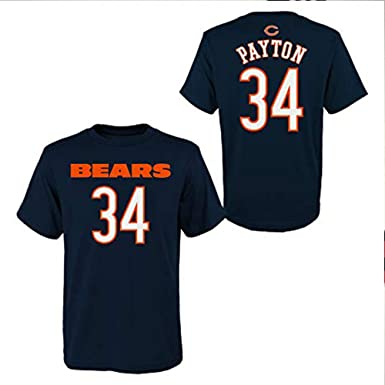 a3bad7e5b98 Image Unavailable. Image not available for. Color: Outerstuff Walter Payton  #34 Chicago Bears Youth Name and Number Shirt ...