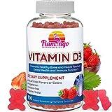 Vitamin D3 Gummies for Adults and Kids 800IU - for Immune and Bone Health- Kosher, Halal, GMO-Free, and Vegetarian. 100 Count