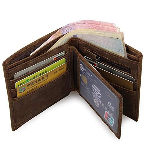 Porte Flysxp monnaie Multi 12cm Portefeuille 10cm Cardet fonctions Pour Homme Hommes wqXqT
