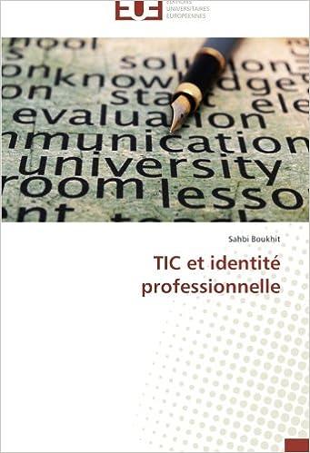 Livre TIC et identité professionnelle pdf ebook