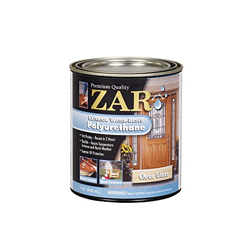 (ZAR 32612 Exterior Water Based Polyurethane, QT)