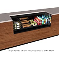 Structural Concepts CO6324R-UC-E3 Express 3 Oasis Self Service Refrigerated Undercounter Case, 71-1/4 W x 24 D x 32-3/4 H