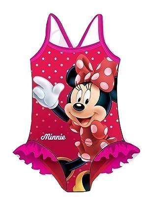 Minnie - Traje de una Pieza - para niña Rose 4 años: Amazon.es ...
