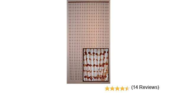 Amazon com  Hanging Beaded Door Curtains dividers   Crystal Brown Earth  Shape  Item   69 385  Kitchen   Dining. Amazon com  Hanging Beaded Door Curtains dividers   Crystal Brown