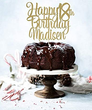 Cualquier número! Decoración para tarta de cumpleaños con ...