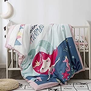 51ooDP8f5qL._SS300_ Mermaid Crib Bedding and Mermaid Nursery Bedding Sets