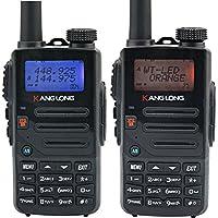 KangLong KL-H2× 2 Newest Two Way Radio 5W Power136-174mhz 400-520mhz Dual Band Ham Radio