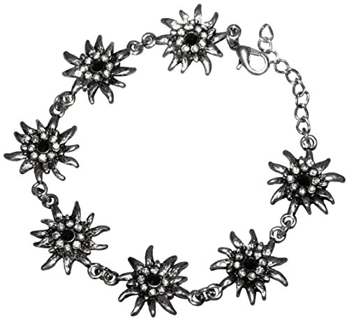German Edelweiss Flower Bracelet for -