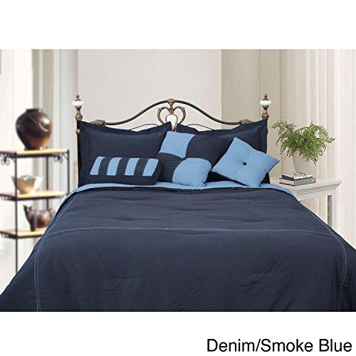 Denim Full Bedskirt - 8