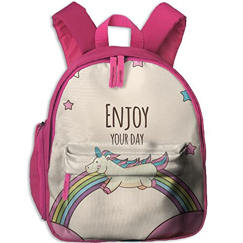 Little Girls Boys Cute Waterproof Toddler Backpack With Adjustable Shoulder Straps Unicorn Printed Snack Backpack Gift For Children In Pre School Or Kindergarten