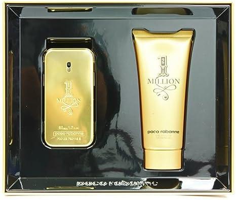 Paco Rabanne - 1 Million - Set de regalo Eau de Toilette 50 ml + Gel de ducha 100 ml para hombres: Amazon.es: Belleza