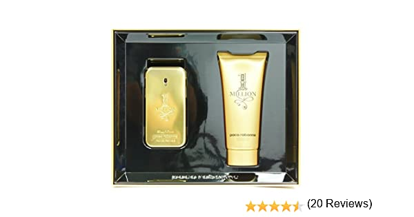 Paco Rabanne - 1 Million - Set de regalo Eau de Toilette 50 ml + Gel de ducha 100 ml para hombres: Amazon.es: Belleza