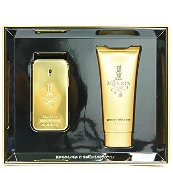 f56ac63a1501a Paco Rabanne One Million Set for Men contains Eau de Toilette 50 ml and  Showergel 100
