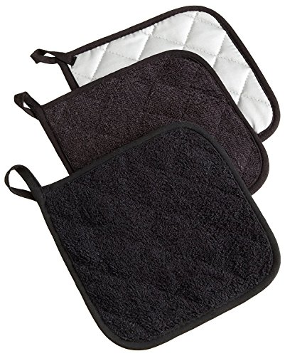 DII Cotton Terry Pot Holders, 7x7