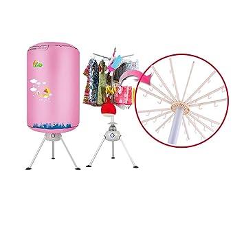 YONG FEI Portátil Secadora de ropa plegable portátil-Tendedero eléctrico de 1000 vatios Capacidad de