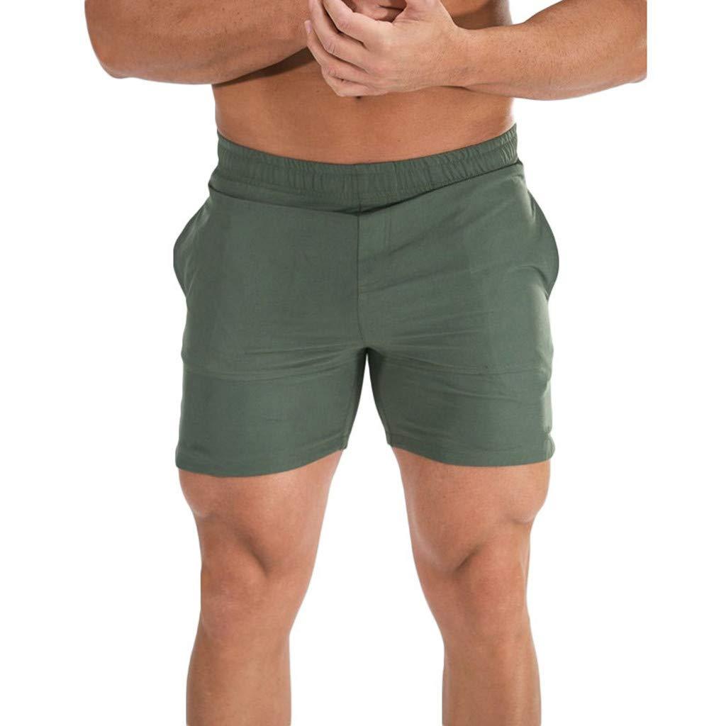Colmkley Mens Slim Surf Running Sport Beach Shorts Pockets Cargo Pants Swimwear Colmkley Store