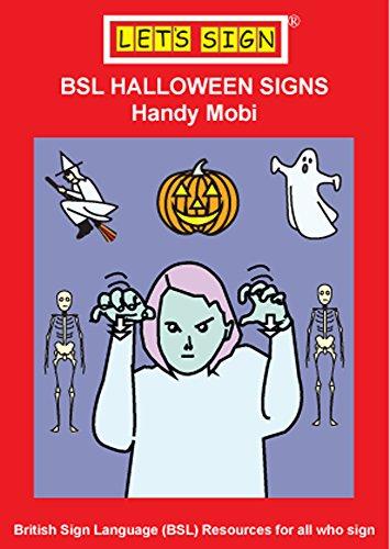 BSL HALLOWEEN SIGNS: Handy Mobi (LET'S SIGN BSL)