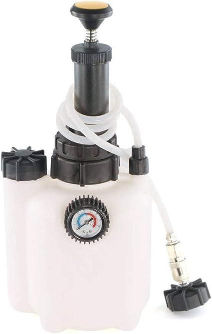 Vosarea Brake Bleeder Sturdy 3L Capacity Car Brake Fluid Bleeder Bleeding Kit Auto Replacement Tool