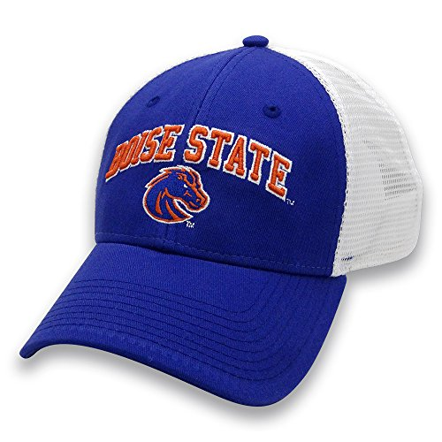 The Game NCAA Boise State Broncos Adult Unisex Everyday Trucker Mesh Hat, Adjustable, (Ncaa Boise State)