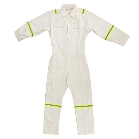 B Blesiya Ropa de Trabajo Antiestática Batas Protectora Instalación de Laboratorios Producto Laboral - Blanco XXL