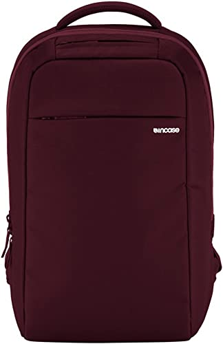New Incase ICON Lite Backpack with Laptop Tablet Compartment up to 15 inches – Deep Red