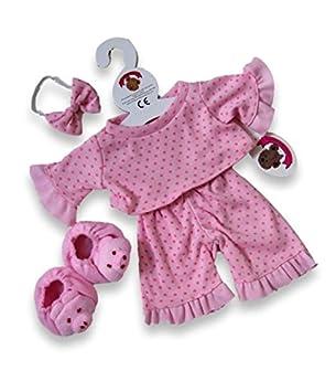 71ab9219654 Build Your Bears Wardrobe Teddy Bear Clothes fits Build a Bear Teddies  Polka Dot PJ s and