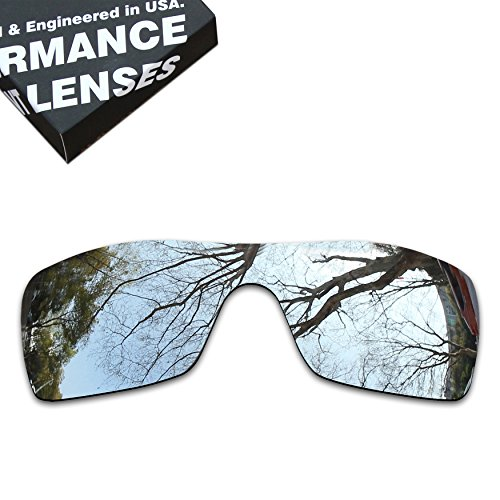 ToughAsNails Polarized Lens Replacement for Oakley Batwolf Sunglass - More - Batwolf Oakley Polarized Lenses