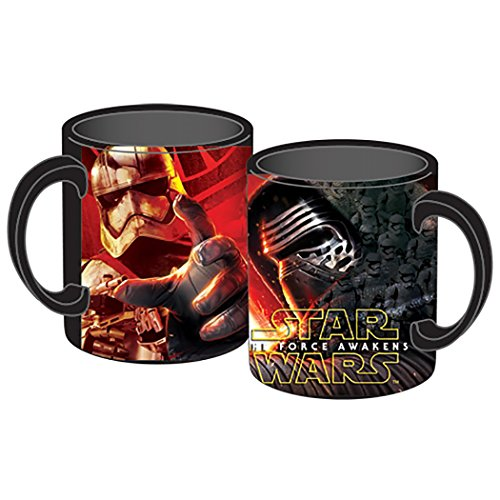 [Star Wars Kylo Ren and Storm Trooper 14oz JUMBO Coffee Mug] (Stormtroopers Outfit)
