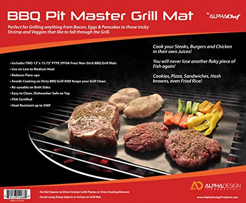 Alpha Chef Non stick Grilling Sheets product image