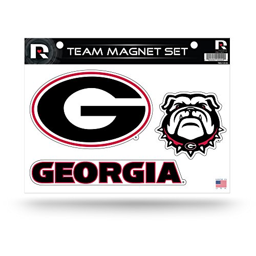 Rico Industries NCAA Georgia Bulldogs Die Cut Team Magnet Set Sheet