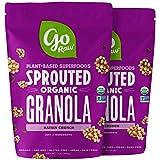 Go Raw Superfood Grain Free Granola, Raisin Crunch, 16-oz. Bag (Pack of 2)   Vegan   Keto   Natural   Organic (Packaging May Vary)