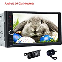 Front Camera & Rear view Camera included! Double 2 din Android 6.0 Car Stereo System in Dash Autoradio Bluetooth 1080P Video Audio Car AM/FM/RDS Radio BT SWC Screen Mirroring (No DVD Player)