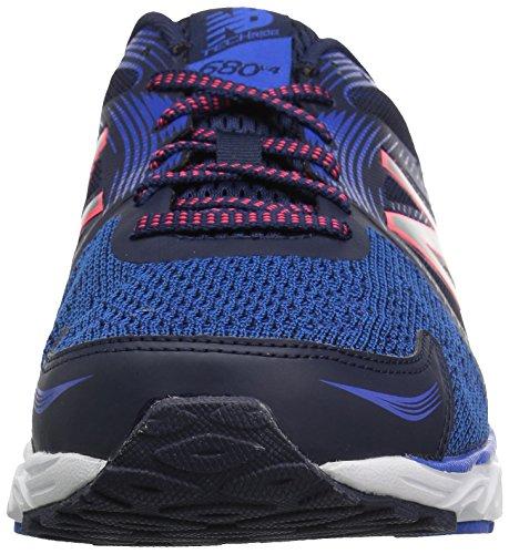 New Balance Mens 680v4 Running-shoes Pigment / Vivid Cobalto / Blu