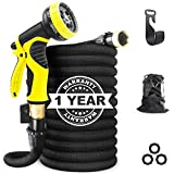 Aterod Expandable Garden Hose, 50ft Strongest Flexible Water Hose, 9 Functions Sprayer