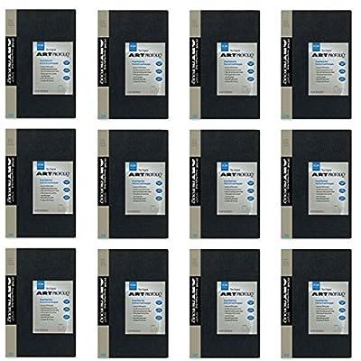 "PACK of 12 Itoya Art Portfolio 5 x 7"" Photo Album Presentation Book 48 Views"