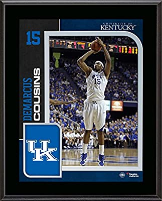 "Demarcus Cousins Kentucky Wildcats 10.5"" x 13"" Sublimated Player Plaque - Fanatics Authentic Certified"