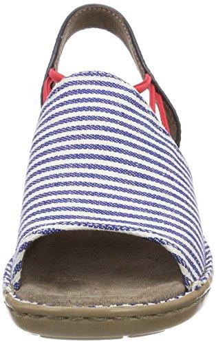 Sandalen Damen Navy Blau Blau Offene Jenny Korsika tCwBdd