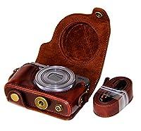 G9 X Mark II Leather Camera Case Bag