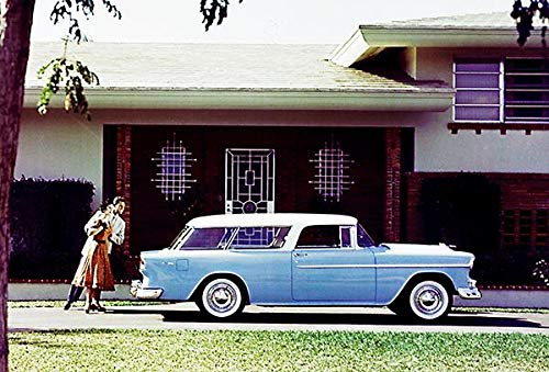 1955 Chevrolet Nomad Station Wagon - Promotional Photo Poster