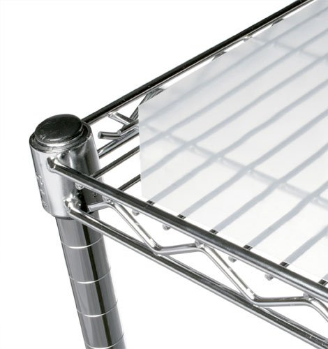 Chadko LLC 18'' x 24'' Translucent Wire Shelf Liner - 4 Pack by Chadko LLC