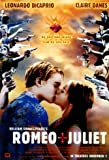 HUGE LAMINATED / ENCAPSULATED Romeo And Juliet (guns) Film POSTER measures approximately 100x70 cm Greatest Films Collection Directed by Baz Luhrmann. Starring Leonardo DiCaprio, Claire Danes, John Leguizamo.