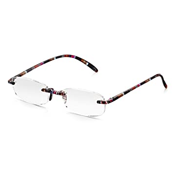 Read Optics |SALE| Womens Rimless Reading Glasses: Comfy Lightweight ...