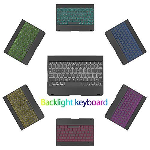 iPad 10.2 7th Generation 2019 Keyboard Case, iPad Air 10.5 2019, iPad Pro 10.5 2017 - Backlit Keyboard - Laptop - iPad 7th Generation Case with Keyboard - iPad 7 Gen Keyboard Case
