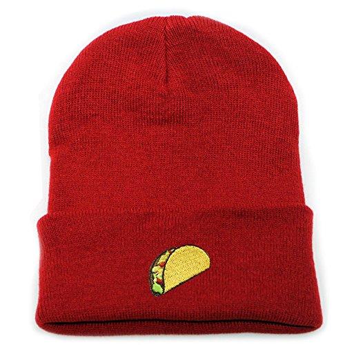 City Hunter Sk901 Taco Winter Basic Ski Beanie Hats 15 Colors ()