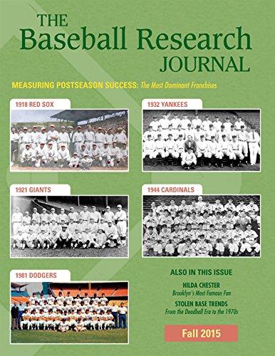 Baseball Research Journal (BRJ), Volume 44 #2: Fall 2015 Issue