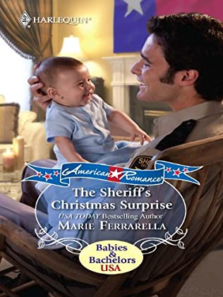 book cover of The Sheriff\'s Christmas Surprise
