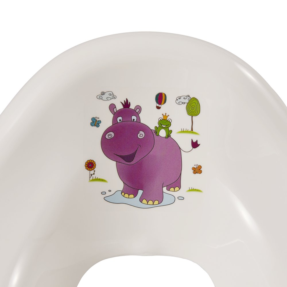 Ab ca 18 Monate bis ca Ewa 4 Jahre Grau Anti-Rutsch-Funktion keeeper Cars Kinder-Toilettensitz